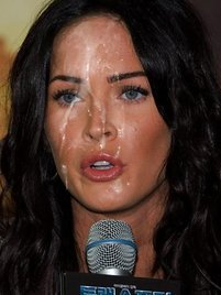 Megan Fox loves to posing nude so she can get more hard cocks and sperm!