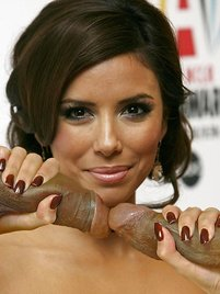 Eva Longoria is a sexy latin chic and she needs a wild sex