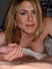Guys love Jennifer Aniston and she loves their cocks!