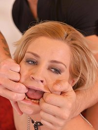 Humiliated Squirting Subby: Double Pee Makes Her Squirt